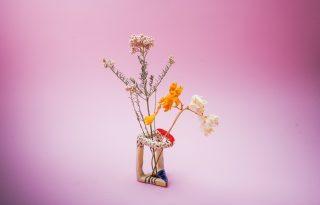 Ikebana ihlette magyar kerámiák