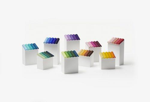 Zseniális csomagolást kapott a japán zsírkréta-kollekció