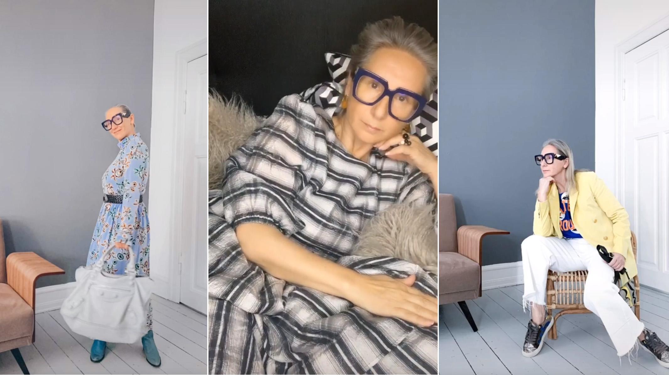 Az 51 éves divatszerkesztő az internet új kedvence