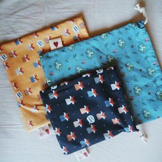 Cuki textilholmik a low waste dizájn jegyében