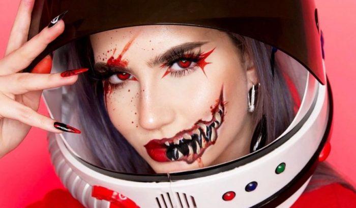 A TikTok után a sminktrendekben is tarol a véres Among Us indie játék