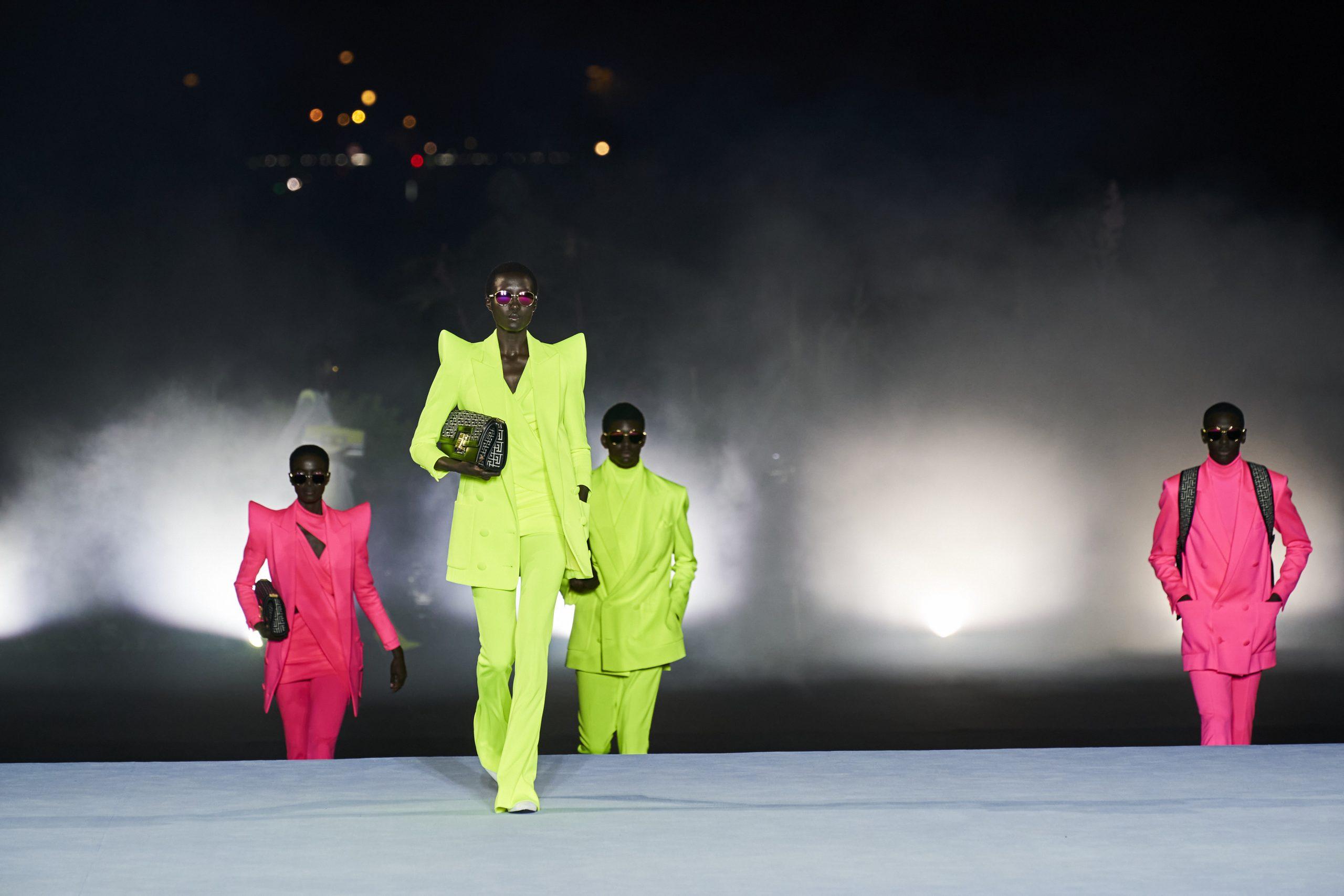 4. kép: Párizsi divathét - 2021-es tavaszi-nyári ready to wear kollekció - Balmain