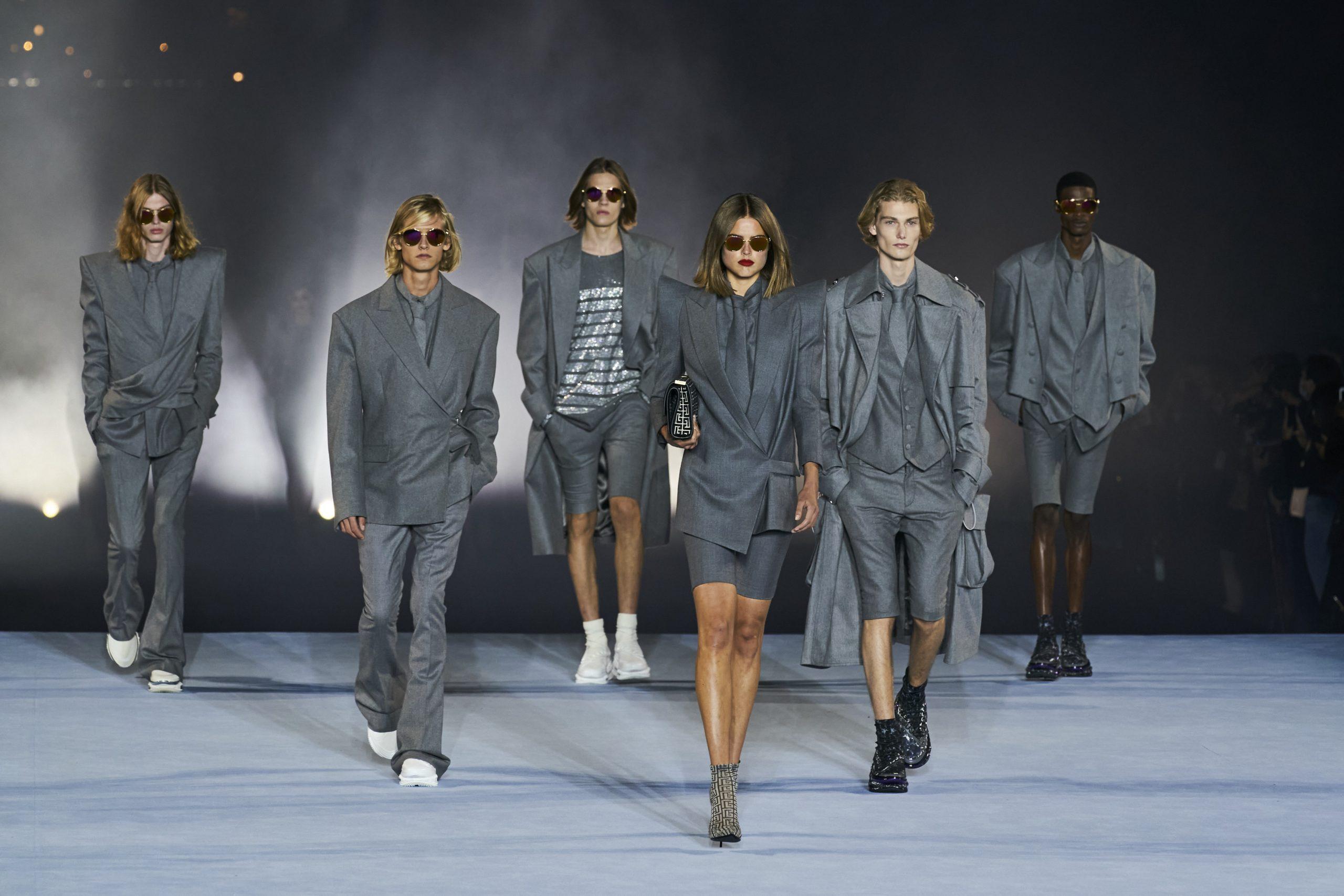 8. kép: Párizsi divathét - 2021-es tavaszi-nyári ready to wear kollekció - Balmain