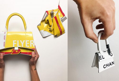 Óriási trend lett az újrahasznosított milánói táska