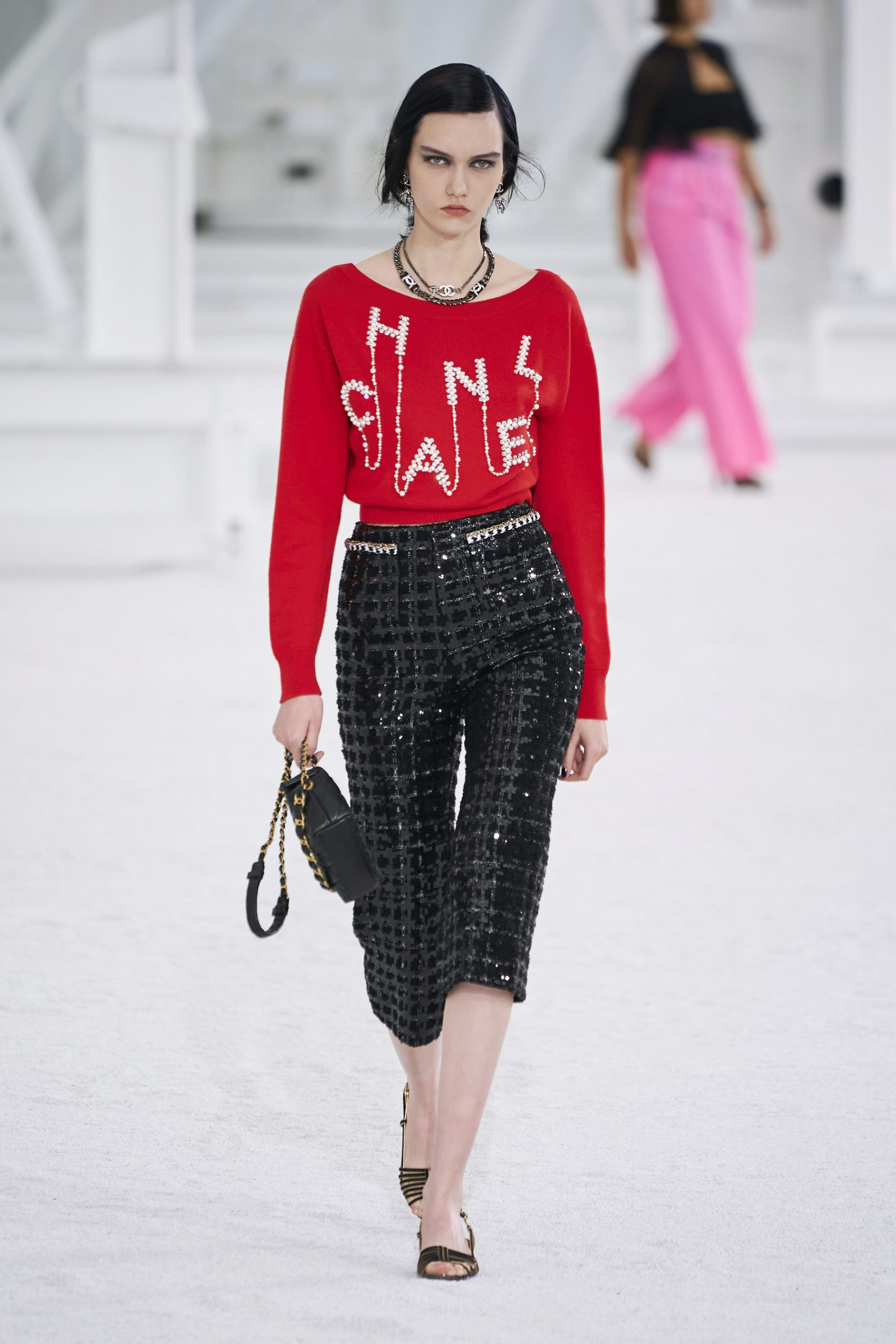 6. kép: Párizsi Divathét - Chanel - 2021 tavasz-nyár - ready to wear