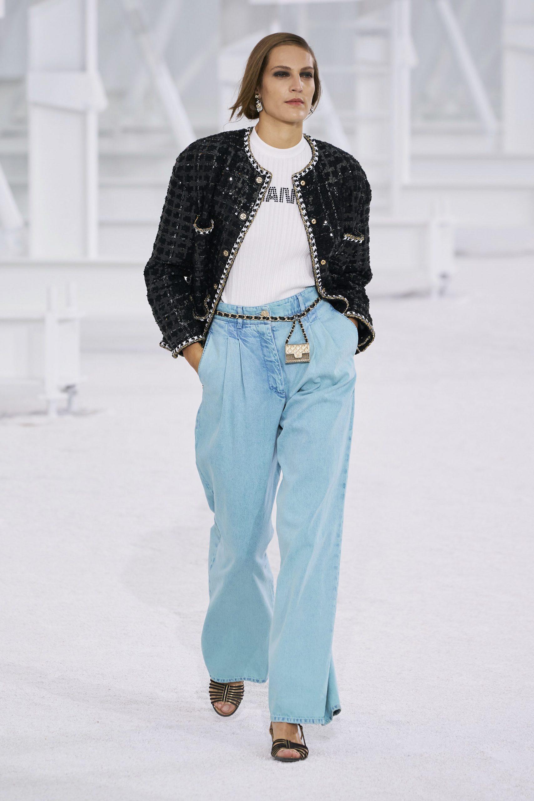 7. kép: Párizsi Divathét - Chanel - 2021 tavasz-nyár - ready to wear