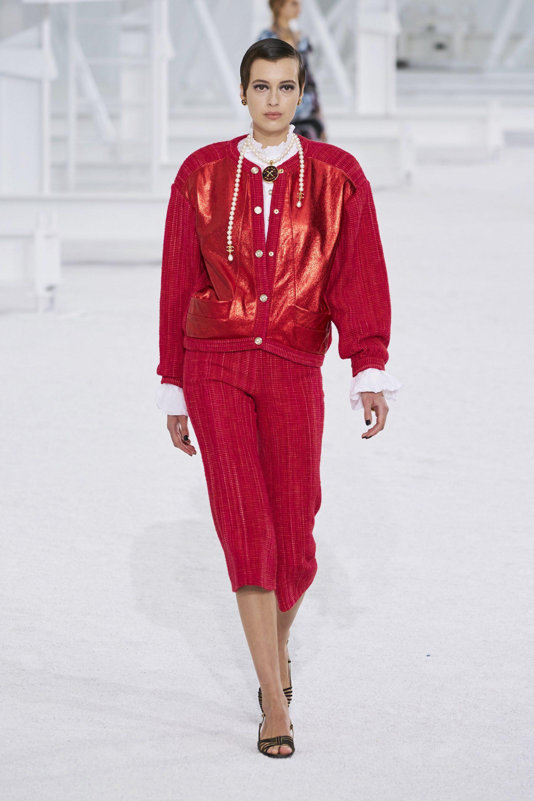 10. kép: Párizsi Divathét - Chanel - 2021 tavasz-nyár - ready to wear