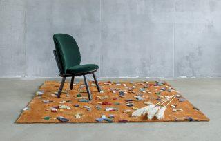 Minden teret feldob a textilkonfettivel borított szőnyeg