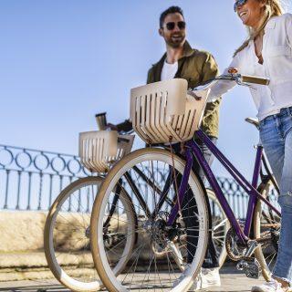 Elegáns kerékpár és dizájnertoll készül az újrahasznosított Nespresso kávékapszulákból