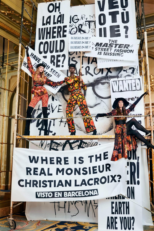 10. kép: Desigual x  Christian Lacroix kollekció