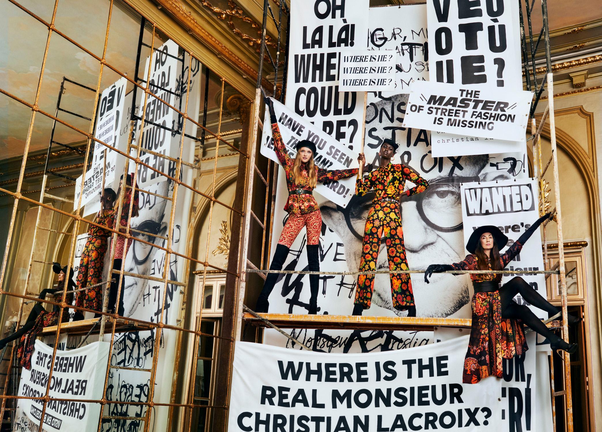 11. kép: Desigual x  Christian Lacroix kollekció