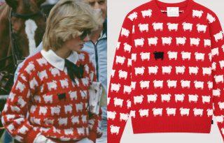 New Yorki-i divatcég éleszti újjá Diana hercegnő ikonikus pulóverét