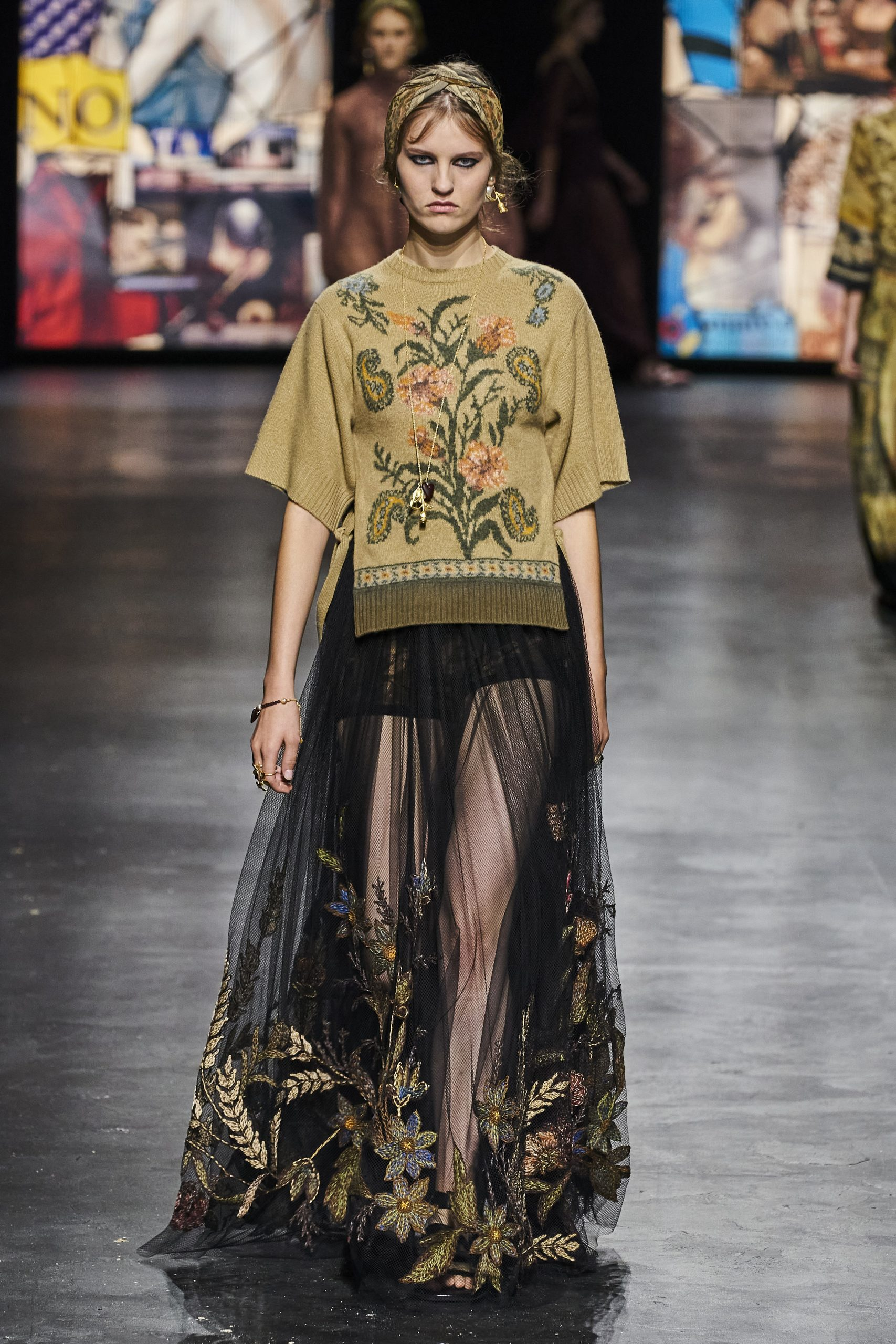 7. kép: Párizsi divathét - Christian Dior - 2021 tavasz-nyár - ready to wear