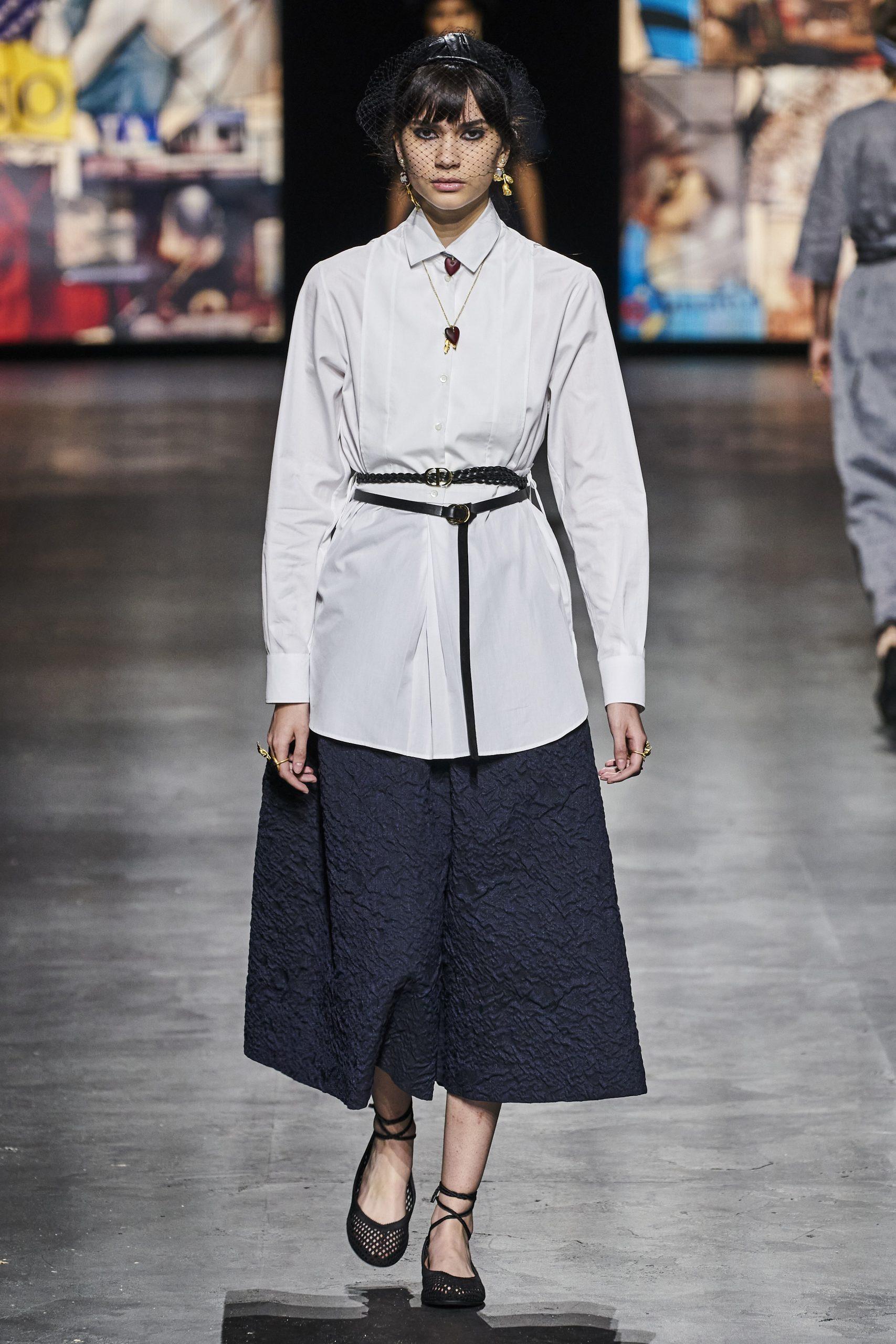 10. kép: Párizsi divathét - Christian Dior - 2021 tavasz-nyár - ready to wear