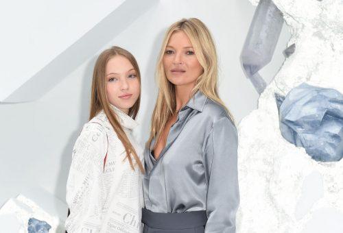 Kate Moss lánya a Miu Miu divatbemutatóján debütált
