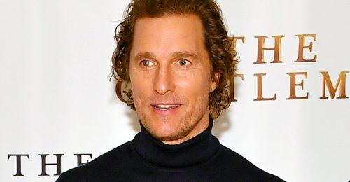 Matthew McConaughey-t belezsarolták szüzessége elvesztésébe