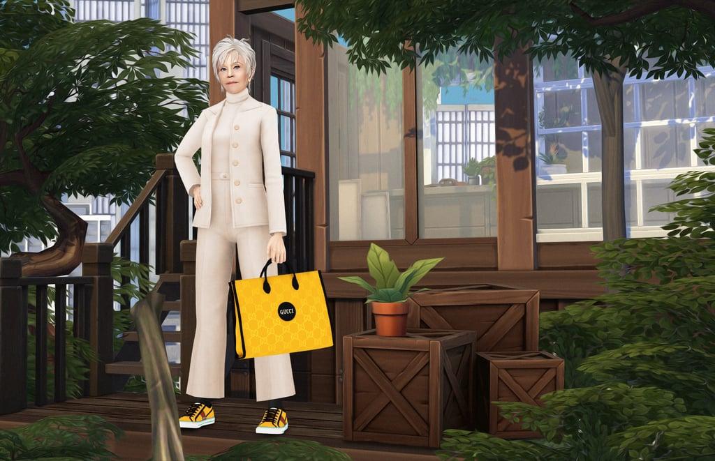 Jane Fonda Gucci The Sims