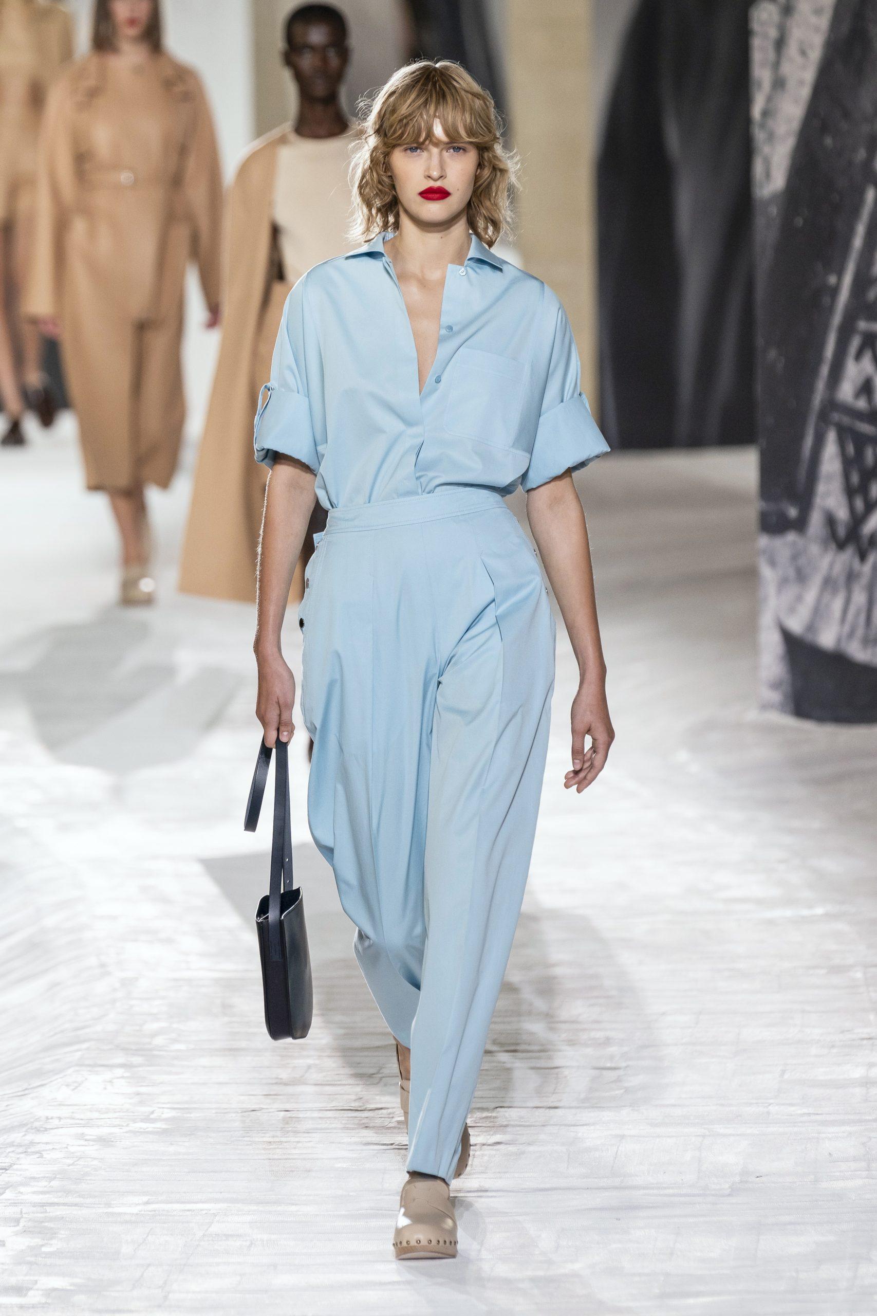 12. kép: Párizsi divathét - Hermès - 2021 tavasz-nyár - ready to wear