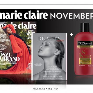 Megjelent a novemberi Marie Claire!