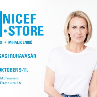 Divattal a gyerekekért – Pénteken újra nyit a UNICEF Pop-Up Store Blaskó Nikolett-tel és Mihalik Enikővel