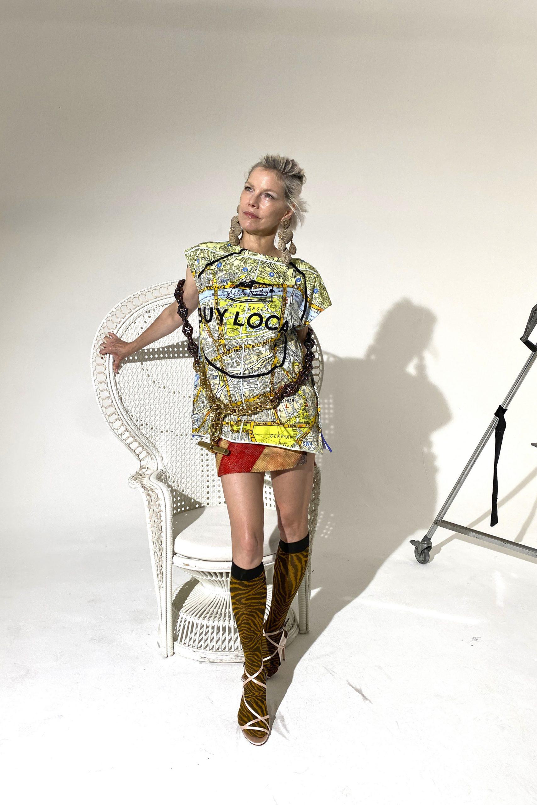 12. kép: Párizsi divathét - Andreas Kronthaler for Vivienne Westwood - 2021 tavasz-nyár - ready to wear