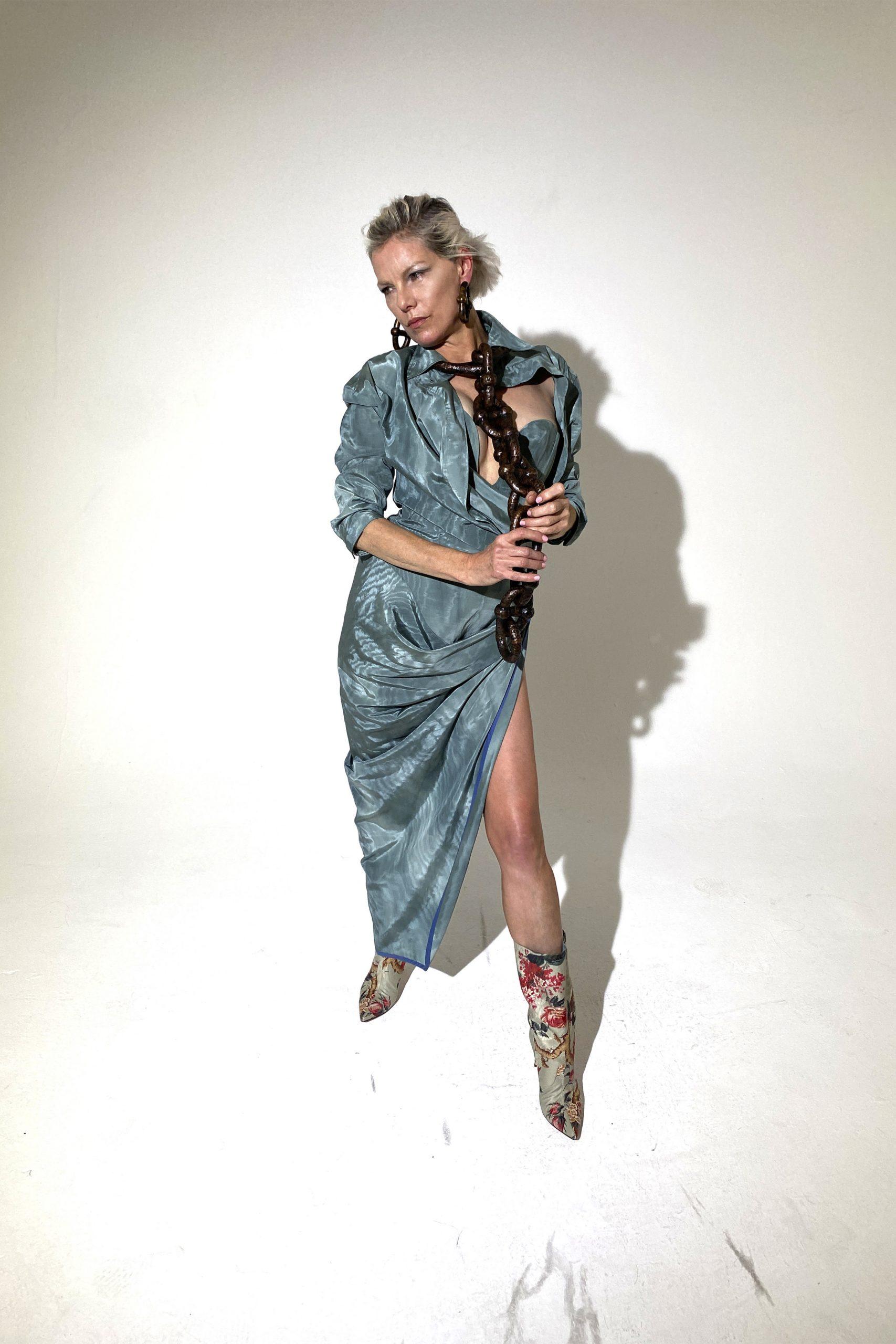 18. kép: Párizsi divathét - Andreas Kronthaler for Vivienne Westwood - 2021 tavasz-nyár - ready to wear