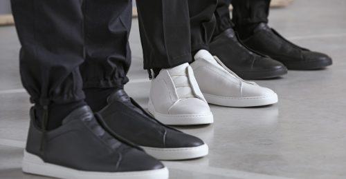 Ez a sportosan elegáns Ermenegildo Zegna cipő az ősz sztárja