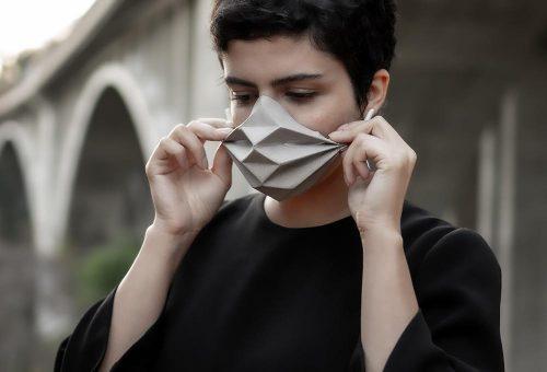 Geometrikus arcmaszkkal védekezhetünk a vírus ellen