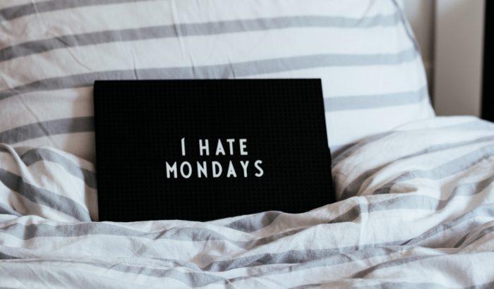 Nem alaptalan a hétfőutálat!
