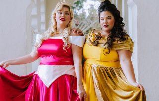 Plus-size influenszerek öltöztek Disney-hercegnőknek a sokszínűségért