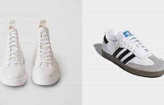 Öt esküvői sportcipő karantén idejére
