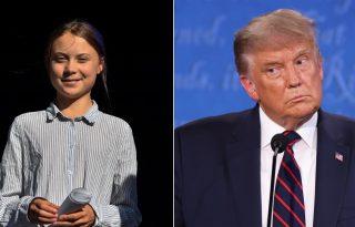 Greta Thunberg hibátlanul vágott vissza Donald Trumpnak