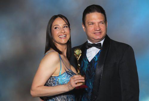 Inspiráló színésznő díjat kapott Hollywoodban Goztola Kristina