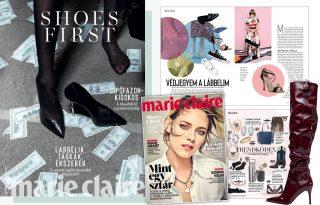 A szezon leglátványosabb kiegészítői a decemberi Marie Claire-ben
