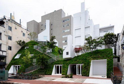 Zölddel benőtt mesehotel nyílik Japánban
