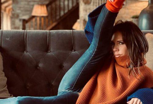 Victoria Beckham megismételte ikonikus lábpózát