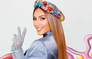 Kim Kardashian egyetlen, sírva nevetős képben foglalta össze 2020-at