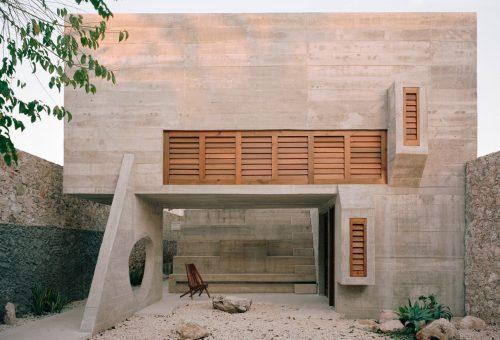 Mexikói villa tiszteleg a beton szépsége előtt