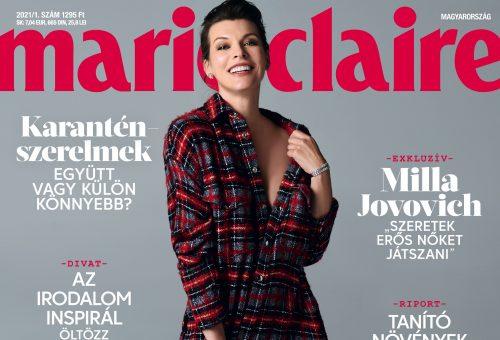 Megjelent a Marie Claire 2021-es első száma
