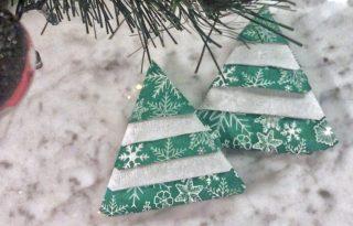 Last minute karácsonyi dekortipp: fenyőfa szalvéta