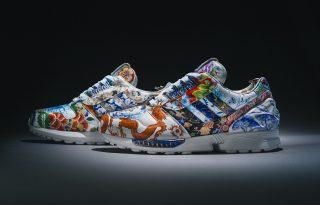 Meisseni porcelán került az Adidas cipőkre