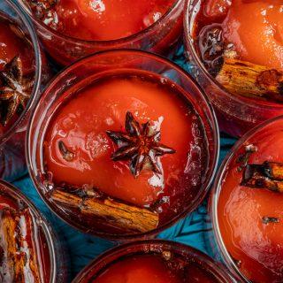 Török birsalmakompót, ahogy az Auguszt Cukrászda készíti