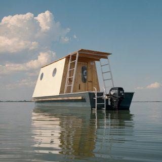 Magyar lakóhajót imád a dizájnvilág
