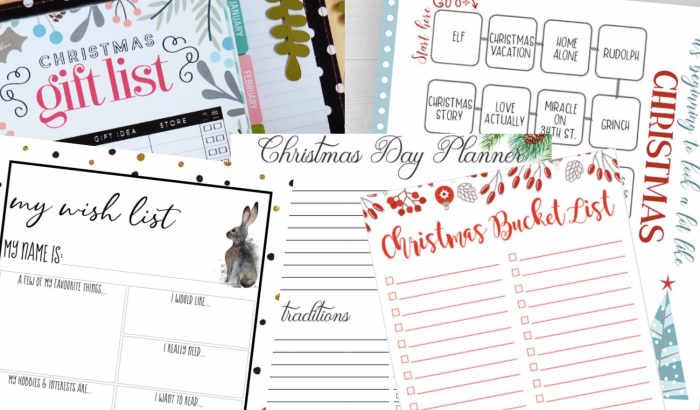 Tervezd meg az ünnepeket ezeken az ingyenesen letölthető sablonokon