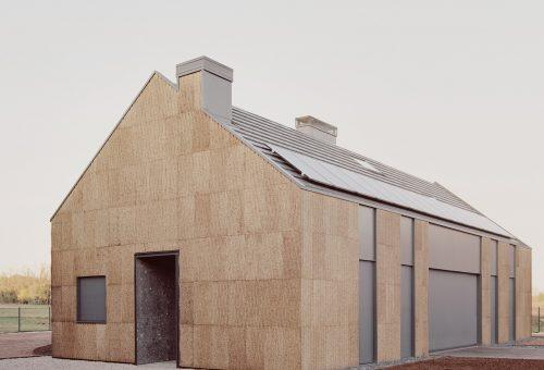 Parafából készült fenntartható ház Olaszországban