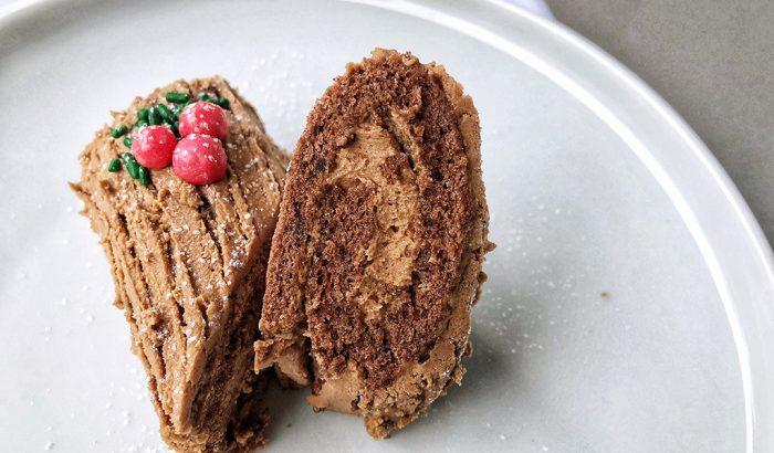 Nem piskóta: a mini csokoládés fatörzs receptje
