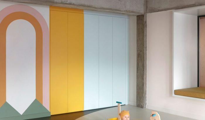 Pasztell minimalizmus az ausztrál bölcsiben