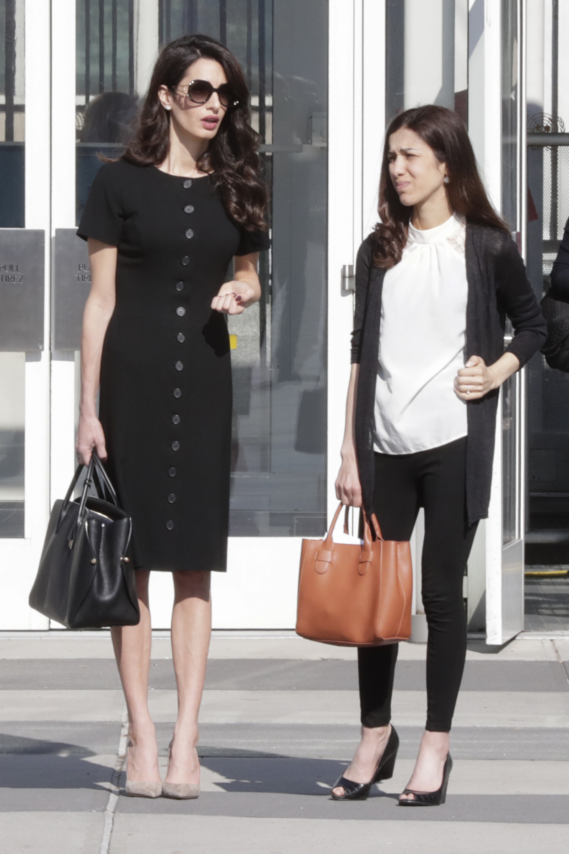 Amal Clooney Dior táska
