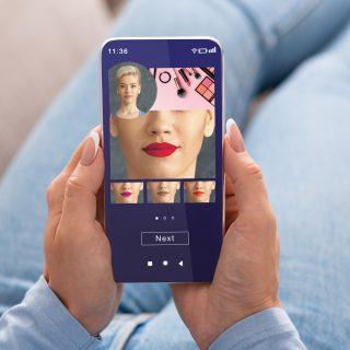 Virtuális sminktükrött fejlesztett a Google