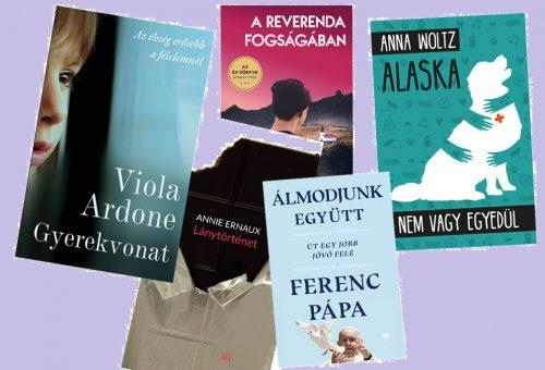 Olvasnivalót keresel? A legjobb új könyvek